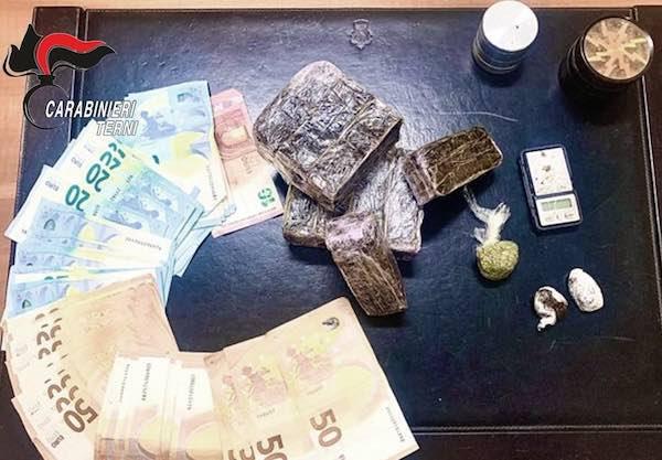 Operazione antidrogra, i Carabinieri arrestano un 25enne