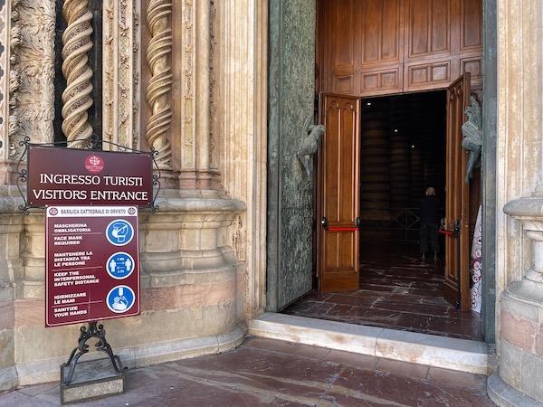 Dal 1° Maggio riaprono le visite al Duomo di Orvieto, dal 15 Maggio ai Musei MODO e Greco