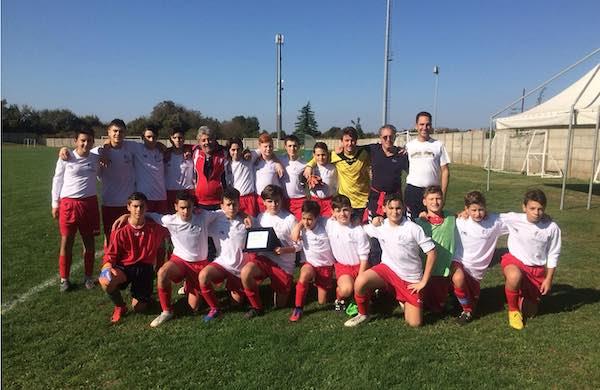 ASD Etruria Calcio, Under 15 a bocca asciutta