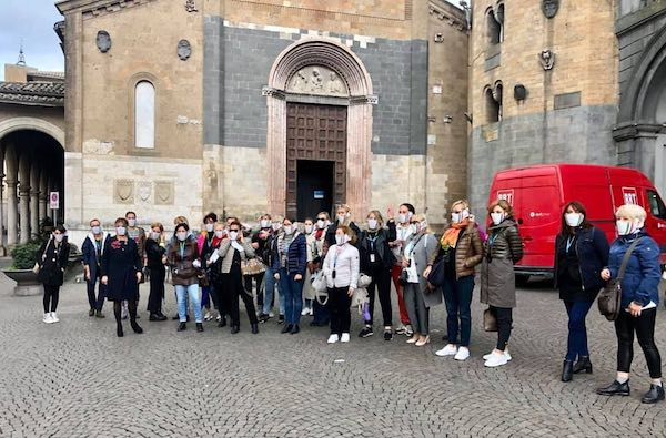 Sulla Rupe, l'educational tour di 25 guide turistiche