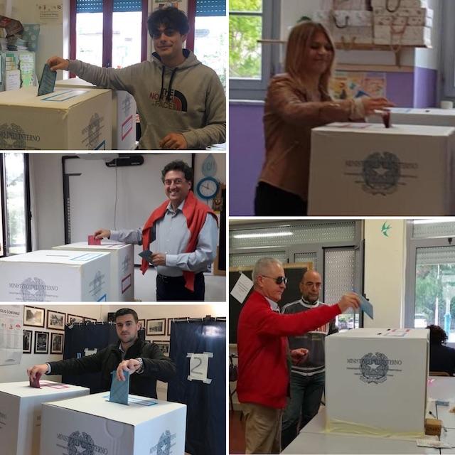 Candidati orvietani tutti al voto, rigorosamente la mattina