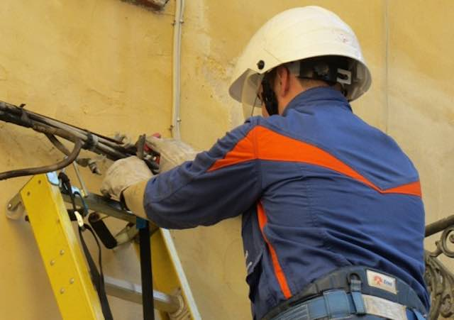 Energia elettrica interrotta per lavori nel centro storico
