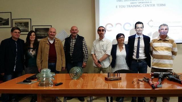 L'Ipsia di Orvieto in visita al Centro di Formazione Enel di Terni