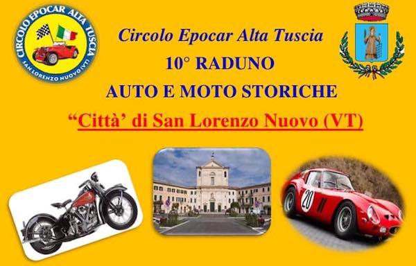 Decima edizione per il raduno di moto ed auto d'epoca