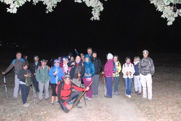 """Escursione in notturna, piena soddisfazione per l'Associazione """"Majorana"""""""