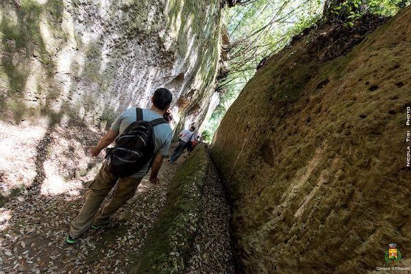 """""""Il mattino ha il tufo in bocca"""". Escursione all'alba per """"Pitigliano Walks & Trekking"""""""