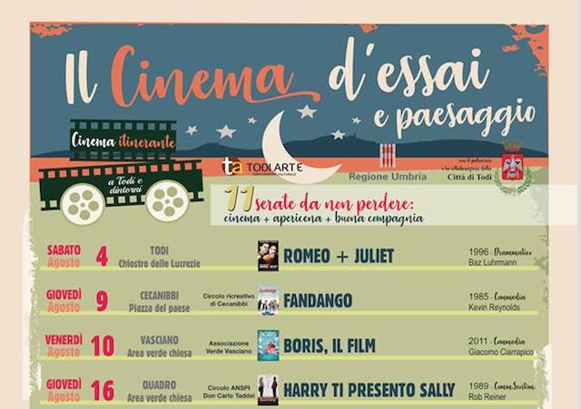 """""""Il Cinema d'Essai e Paesaggio"""". Terza edizione per la rassegna itinerante"""