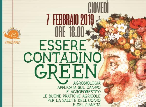 """""""Essere contadino green"""". Terzo appuntamento per """"A Scuola di Cittaslow 2019"""""""