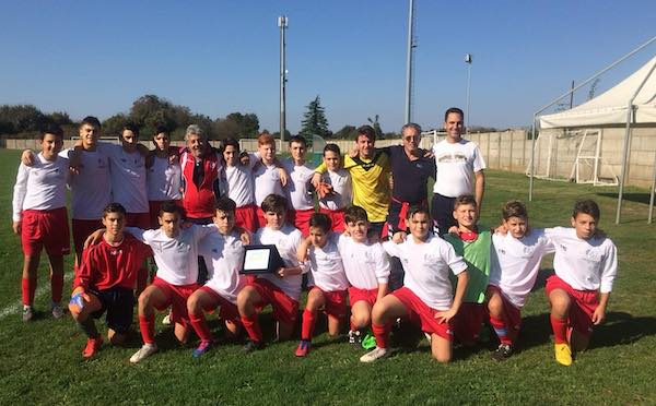 ASD Etruria Calcio, obiettivo salvezza per l'Under 15