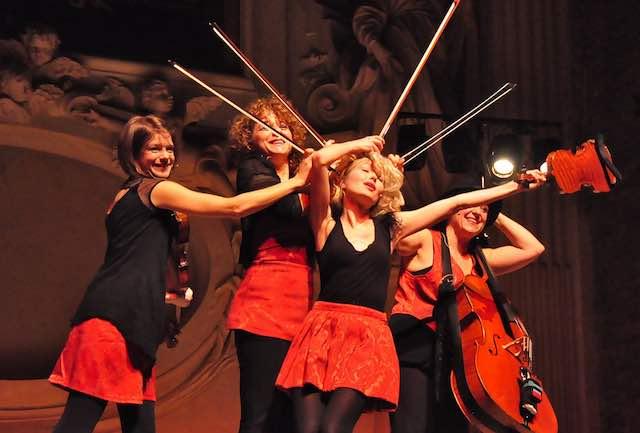 Euphoria al Teatro Boni. Quartetto d'archi al femminile per la notte di San Silvestro