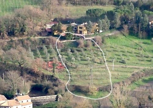 Effettuato il sopralluogo sulla frana in località San Martino
