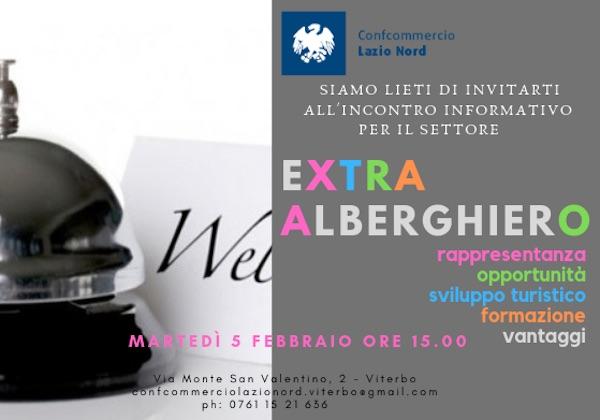 Confcommercio Lazio Nord incontra il settore extralberghiero