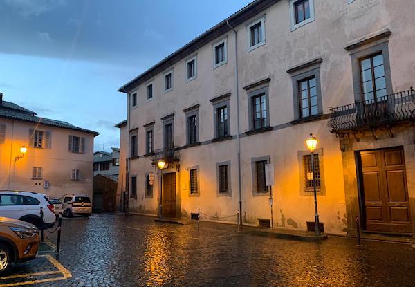 """Il Comune rinnova il contratto di comodato gratuito di Palazzo Negroni al Centro Studi """"Città di Orvieto"""""""
