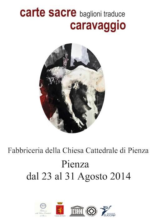 """""""Carte Sacre: Baglioni traduce Caravaggio"""". La mostra itinerante approda a Pienza"""