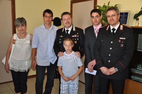 Consegnate al comando provinciale dei Carabinieri di Terni tre borse di studio. Premi a due orvietani