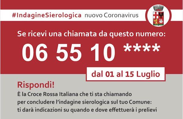 Indagine sierologica al SARS-CoV2, prelievi anche nel territorio di Orvieto