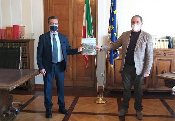 Incontro a Palazzo Bazzani tra il presidente della Provincia e il nuovo questore di Terni