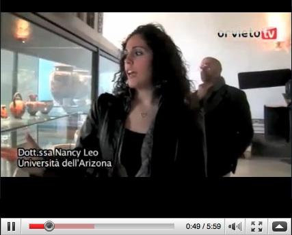 Rinnovato l'apparato didascalico del Museo etrusco Claudio Faina. Ne parla la Dott.ssa Nancy Leo