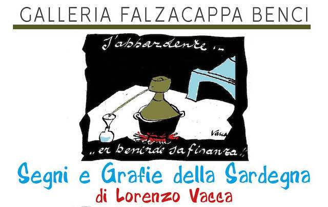 """""""Segni e grafie della Sardegna"""" alla Galleria Falzacappa Benci"""
