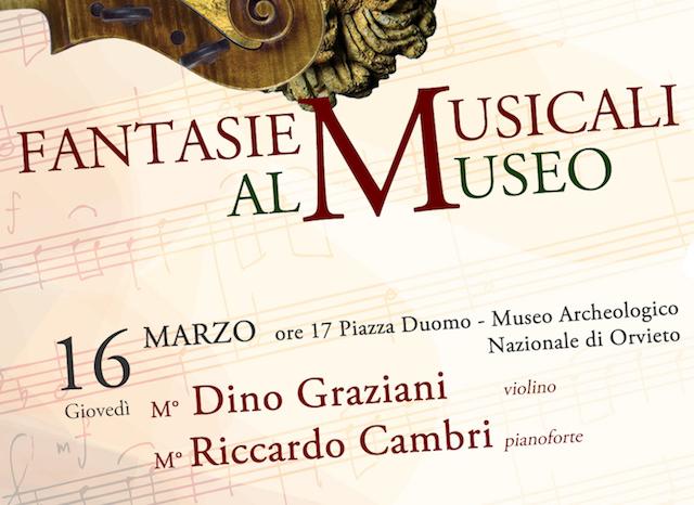 Fantasie Musicali, concerto al Museo Archeologico della Scuola di Musica