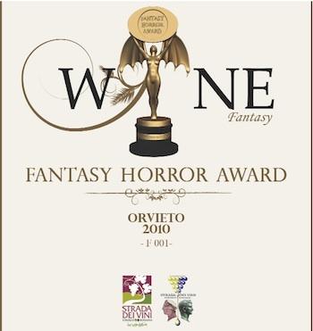 Due etichette della Strada dei Vini Etrusco Romana in occasione del Fantasy Horror Award