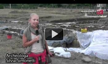 """La visita a scavo aperto all'Area Archeologica di Campo della Fiera """"Luogo Celeste"""" degli Etruschi"""