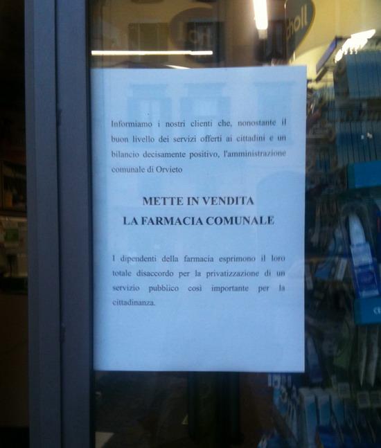 """Consiglio comunale martedì 24 maggio. Romiti fa capolino per (s)vendere la Farmacia. """"No"""" dei dipendenti"""