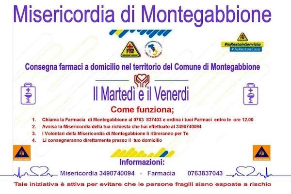 La Misericordia di Montegabbione consegna farmaci a domicilio