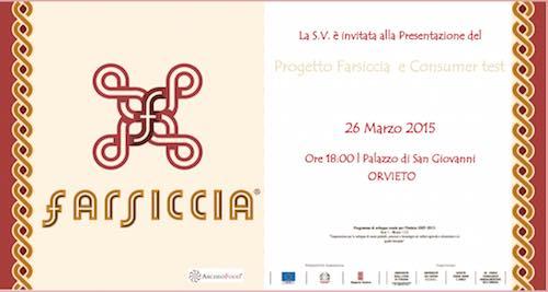 Al San Giovanni presentazione del Progetto Farsiccia e Consumer Test