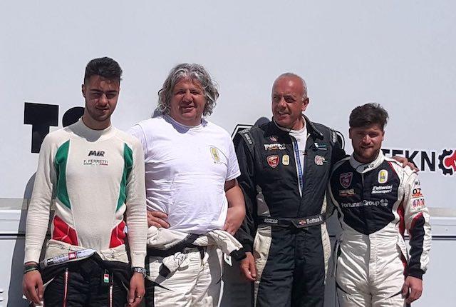 Michele Fattorini cala l'asso nella salita di Montefiascone. En plein per la Fattorini Motorsport