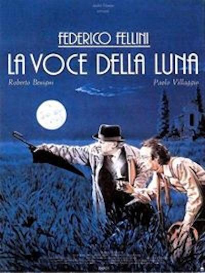 Proiezione del film 'La voce della luna'