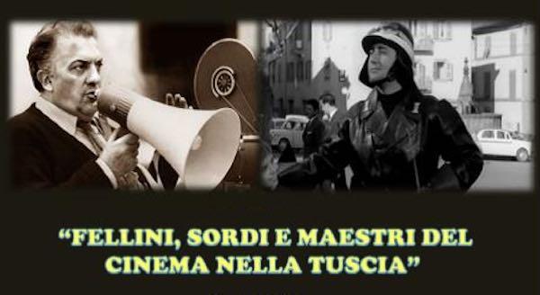 """Al CeDiDo la conferenza su """"Fellini, Sordi e maestri del cinema nella Tuscia"""""""