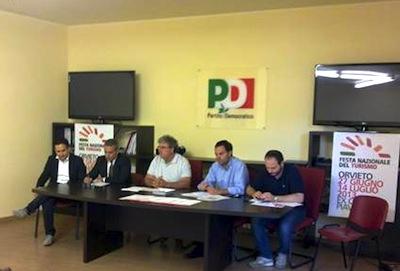 Ad Orvieto la festa democratica nazionale del turismo. Si inizia giovedì all'ex Caserma Piave
