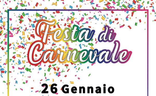 """Festa di Carnevale a Sferracavallo. Il ricavato all'Associazione """"3.36 Per Barbara & Matteo"""""""