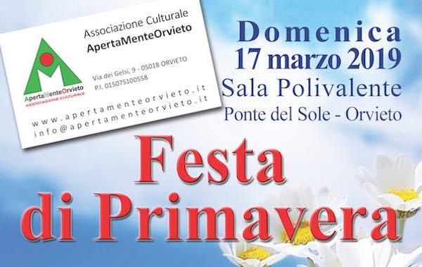 Festa di Primavera a Ponte del Sole. ApertaMenteOrvieto presenta l'attività