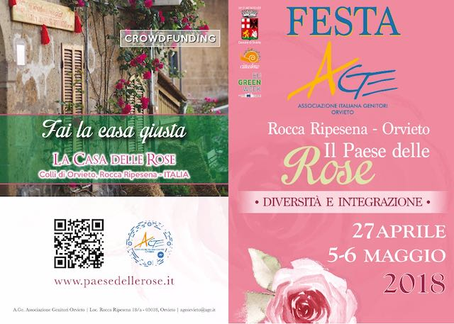 """""""Diversità e integrazione"""" a Rocca Ripesena, in festa per """"Il Paese delle Rose"""""""