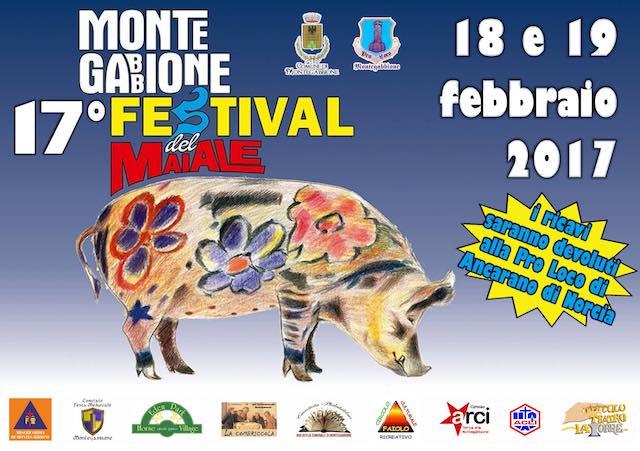 """""""17esimo Festival del Maiale"""". L'arte norcina a Montegabbione, tra laboratori e solidarietà"""