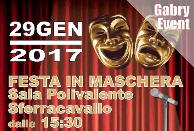 Festa in Maschera pro-terremotati alla Sala Polivalente di Sferracavallo