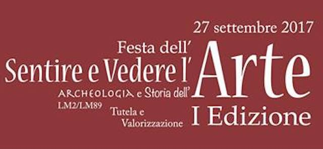 Festa dell'Arte all'Università della Tuscia, per sentire e vedere