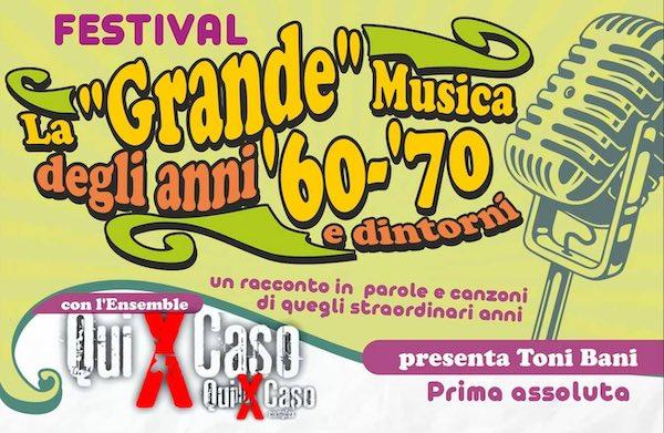 """""""Festival"""", grande musica protagonista al Teatro degli Avvaloranti"""