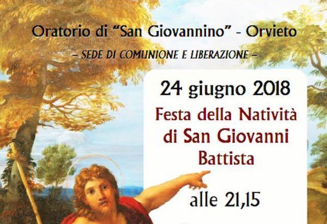 Il quartiere medievale onora la Festa della Natività di San Giovanni Battista