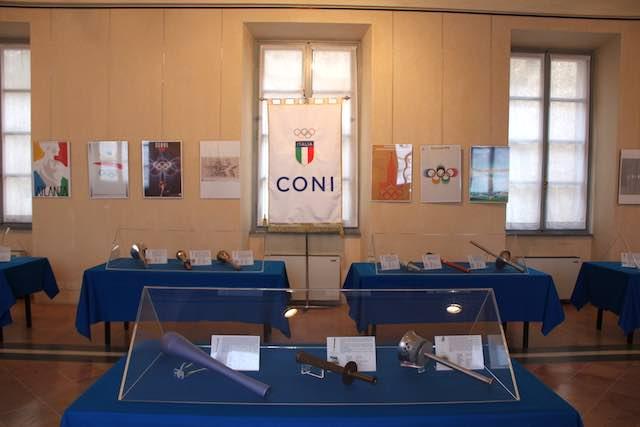Prorogata fino al 5 marzo la mostra delle Fiaccole Olimpiche