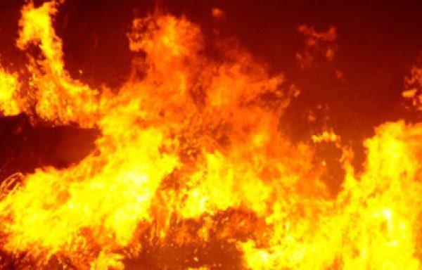 A fuoco un camper lungo la Baschi-Todi. Nessun ferito