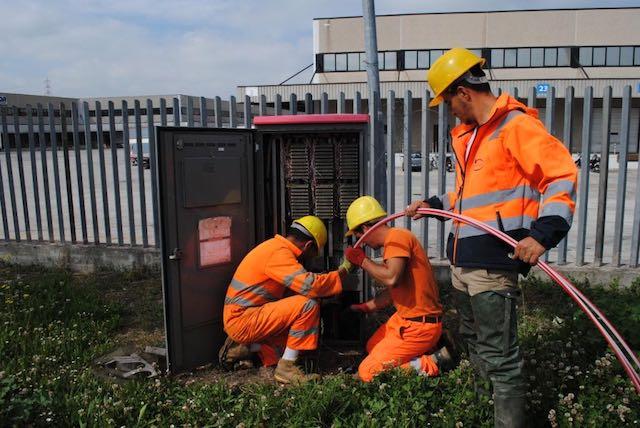 Sopralluoghi sulle infrastrutture della fibra ottica