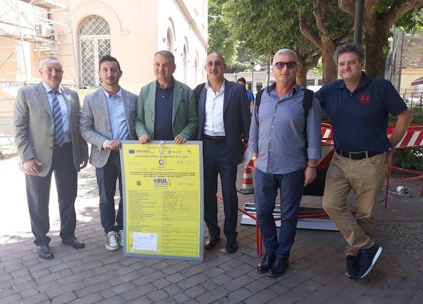 """Piano banda ultra larga, inaugurato il cantiere. """"Entro il 2020 fibra ottica in tutta l'Umbria"""""""