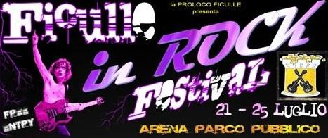 Dal 21 al 25 luglio: Ficulle In Rock Festival 2010