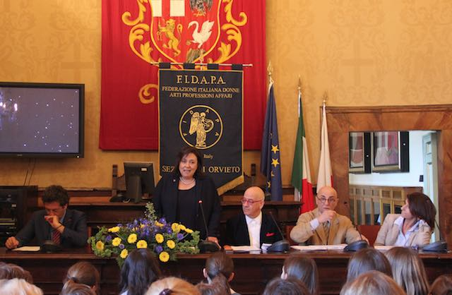 Zaira Marchesini, maestra d'ironia. Dopo il convegno Fidapa, l'intitolazione della Confaloniera?