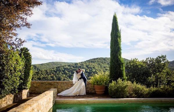Workshop di fotografia per un matrimonio da favola al Castello di Fighine