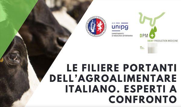 """Webinar su """"Le filiere portanti dell'agroalimentare italiano. Esperti a confronto"""""""