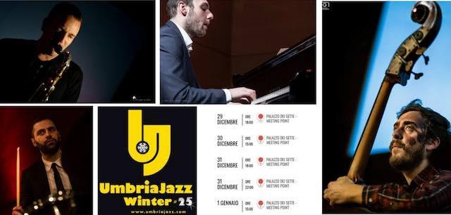 """Filippo Bianchini Quartet"" pronto ad accendere Umbria Jazz Winter # 25"
